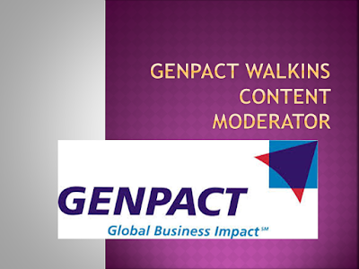 GENPACT Walkins - Content Moderator| Hyderabad | 17th -21st July 2018
