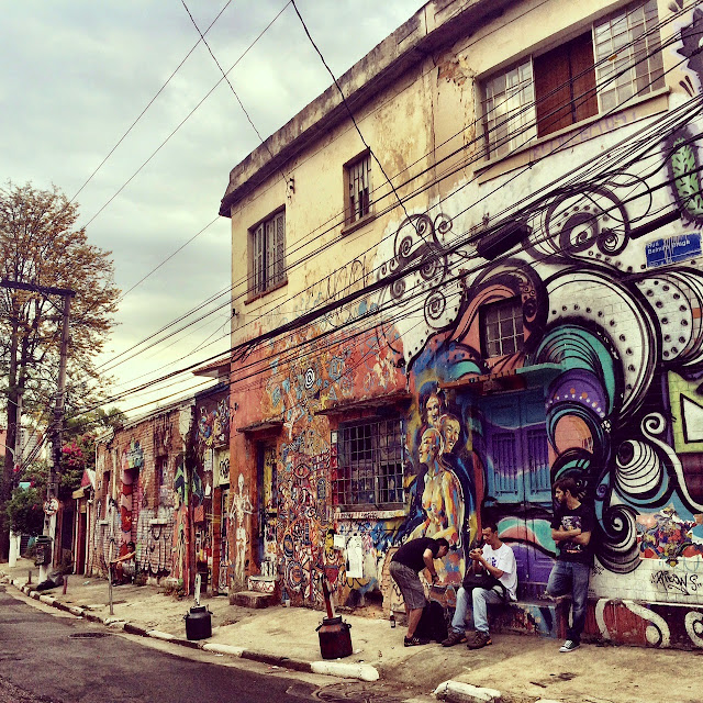 Grafitti em SP, by Gabriela Milan