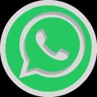 whatsapp button outline