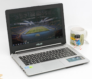 Jual Asus A46CB Laptop Gaming Bekas