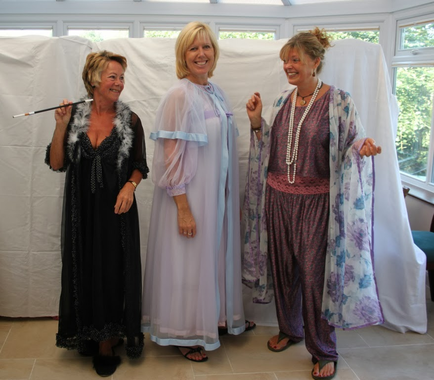 Mature Women In Negligee