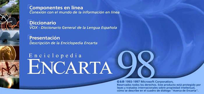 Microsoft Encarta 98 (MIcrosoft, 1998)