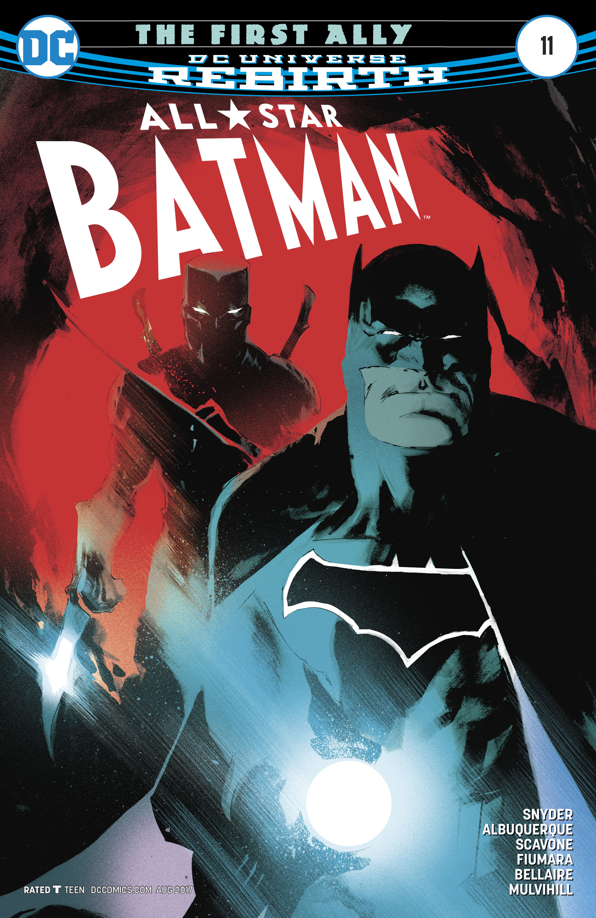 All-Star Batman 11 Page 1