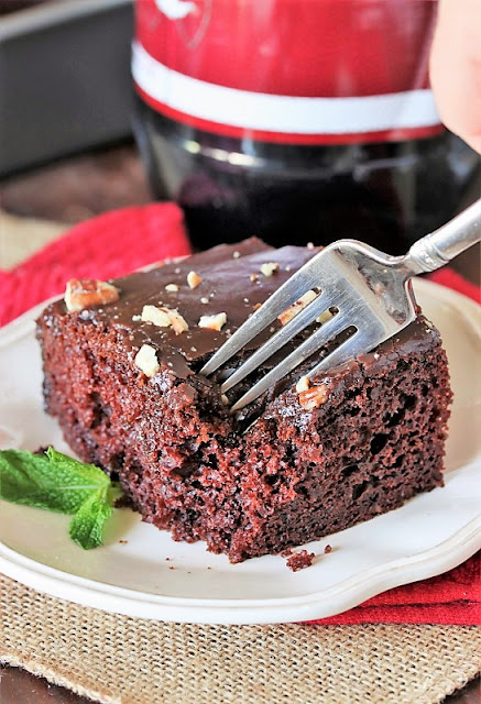 Chocolate Cake Made with Dr. Pepper Image
