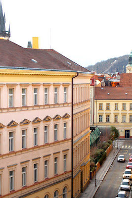 Bedroom view at Hotel Josef, Prague - boutique hotels, Czech Republic - Europe travel blog