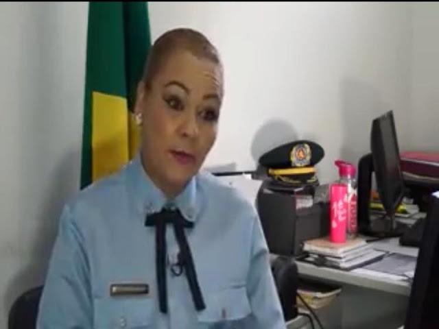 sargento da Polícia Militar de Sergipe Eliana Costa