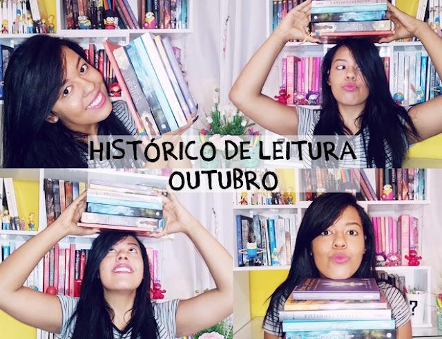 Historico de leitura - Livros lidos em de outubro de 2016
