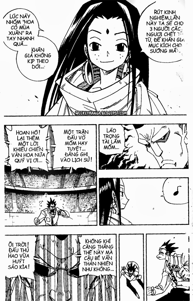 Shaman King [Vua pháp thuật] chap 137 trang 14