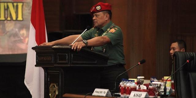 Panglima TNI Minta Anak Buahnya Berani Ambil Tindakan Tegas Amankan Pilkada DKI