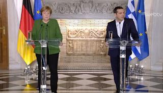 Μέρκελ: Η Ελλάδα μπορεί να βασίζεται στη Γερμανία - ΒΙΝΤΕΟ