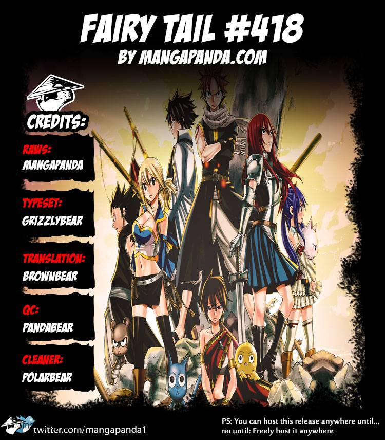 Fairy Tail Ch 418: The Challenger