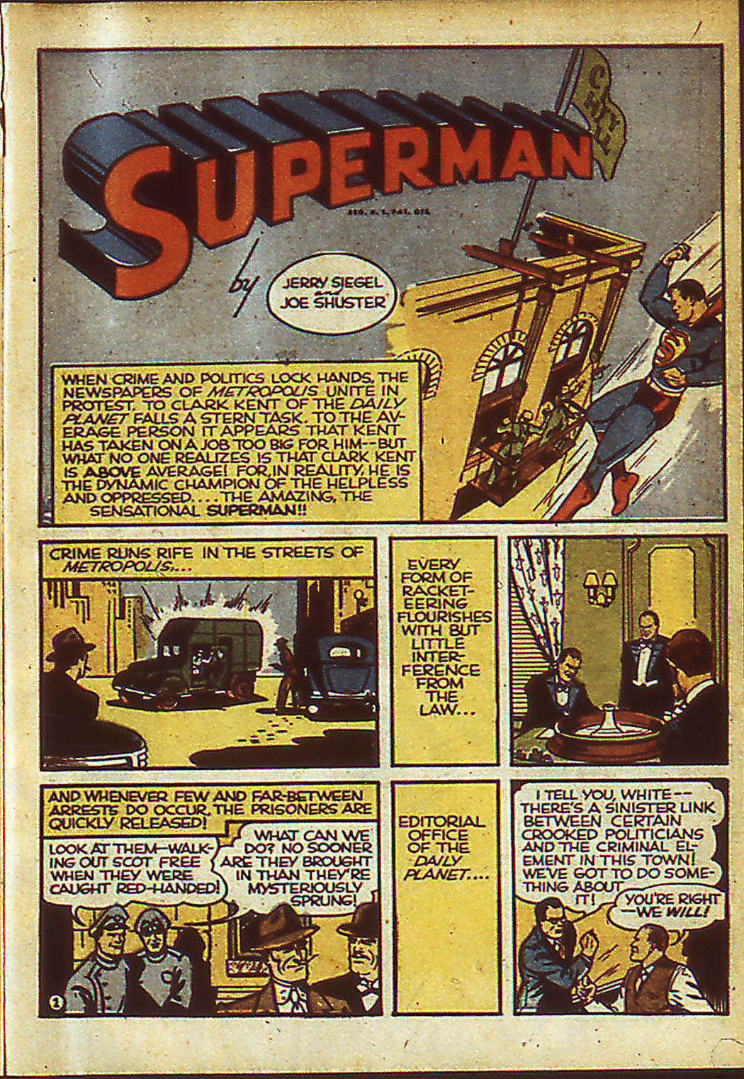 Read online Action Comics (1938) comic -  Issue #37 - 3
