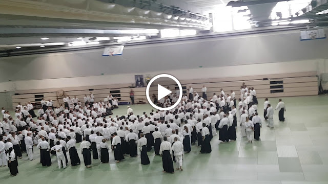 Video Ueshiba Moriteru (Doshu),Asai Katsuaki (Shihan, 8° Dan)