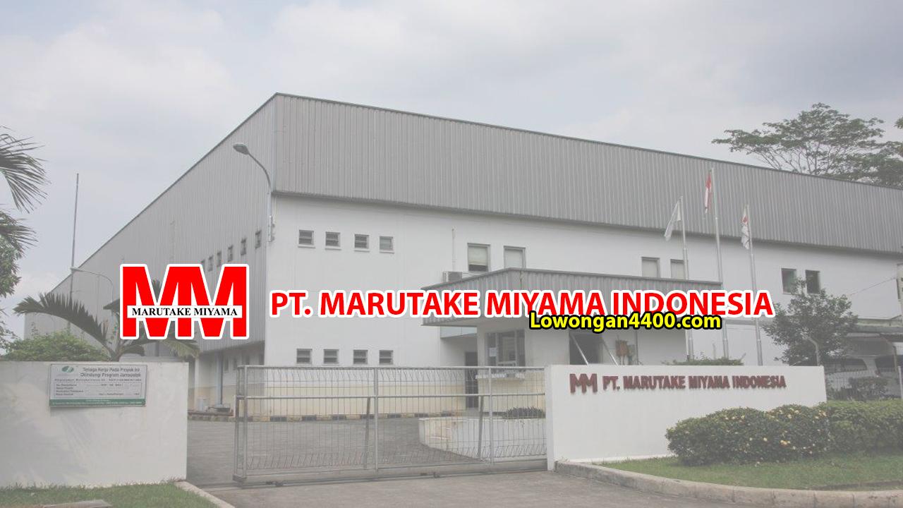 PT Marutake Miyama Indonesia Karawang