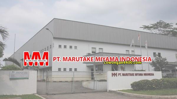 Lowongan Kerja PT Marutake Miyama Indonesia Karawang 2020