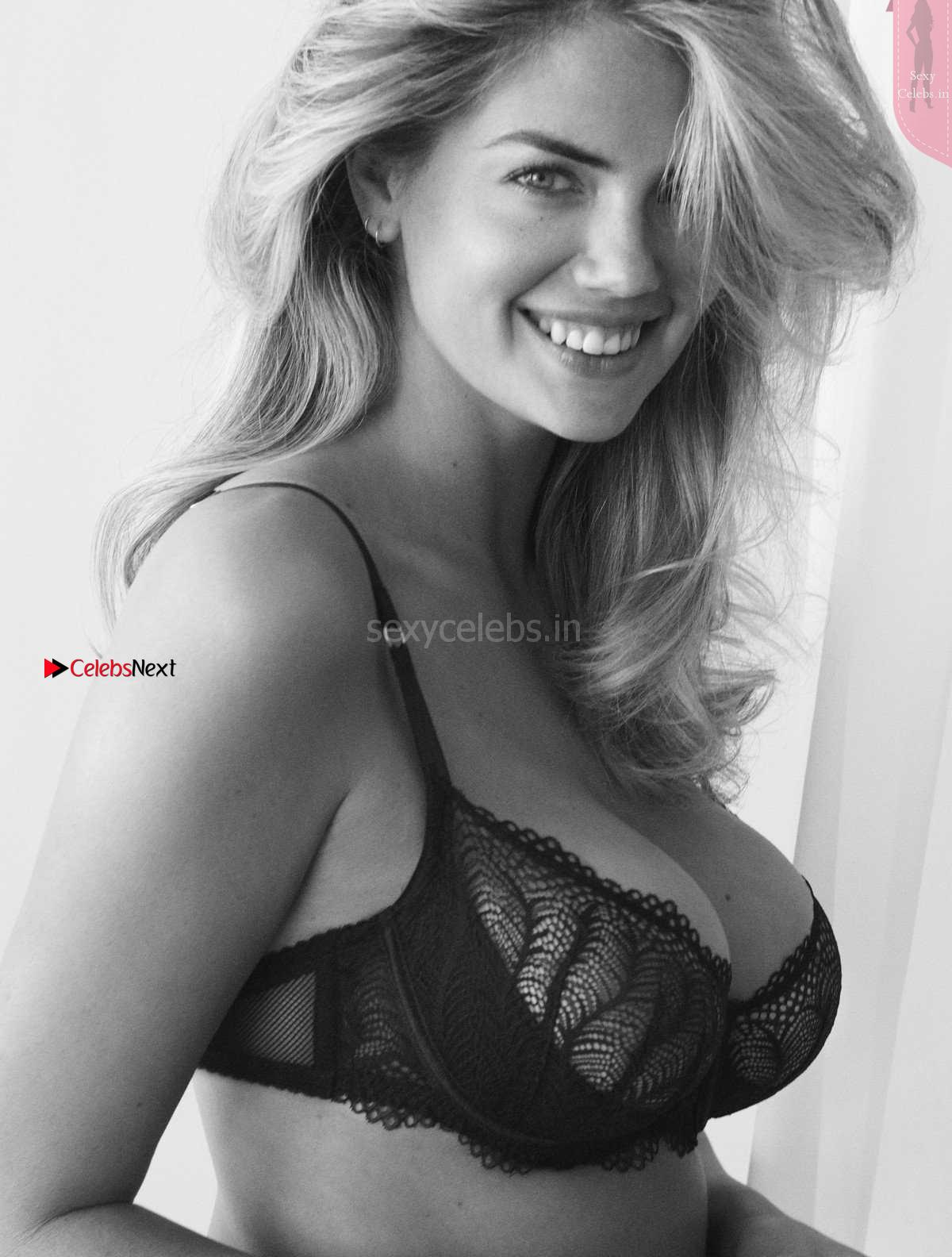 Kate Upton Cleavages Boobs IN Bra and Panties Yamamay Confident Beauty 2018 Campaign ~ SexyCelebs.in Exclusive