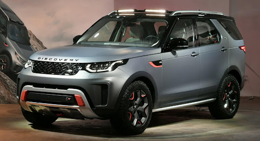 SVX V8 Is The Ultimate Land Rover Discovery For Off-Roading And It's Coming In 2018