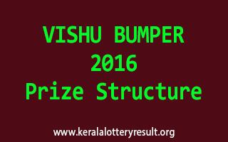 Vishu Bumper 2016 BR-49 Lottery Prize Structure
