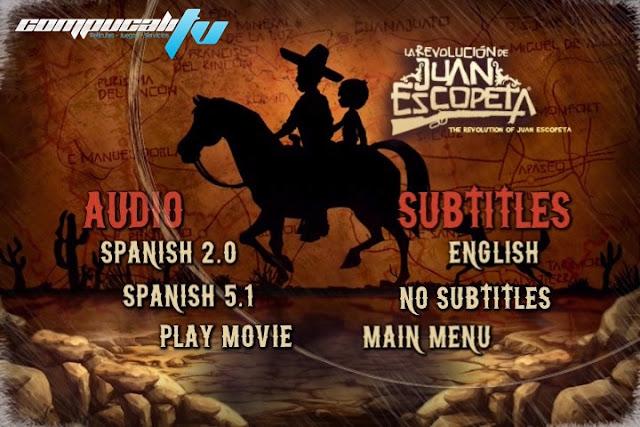 La Revolución de Juan Escopeta DVDR NTSC Español Latino Menú Full