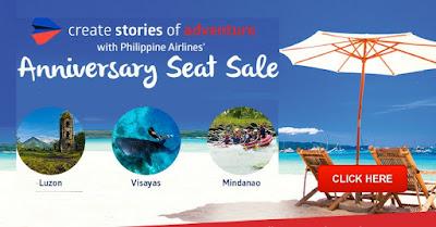Philippine Airlines Promo Anniversary sale