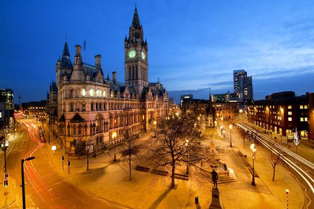 Manchester à noite