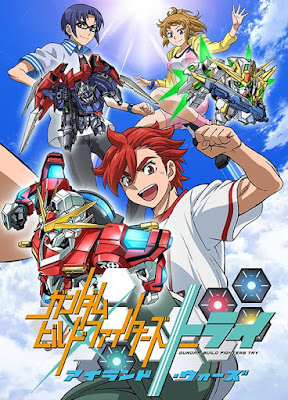 Annunciato Gundam Build Try Island Wars