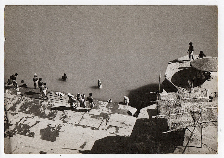 Ganges River in Varanasi - c1930's