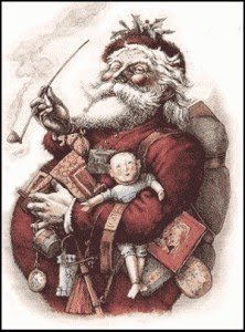 660eb745eb58 Estudiosos afirmam que a figura do bom velhinho foi inspirada num bispo  chamado Nicolau, que nasceu na Turquia em 280 d.C. O bispo, homem de bom  coração, ...