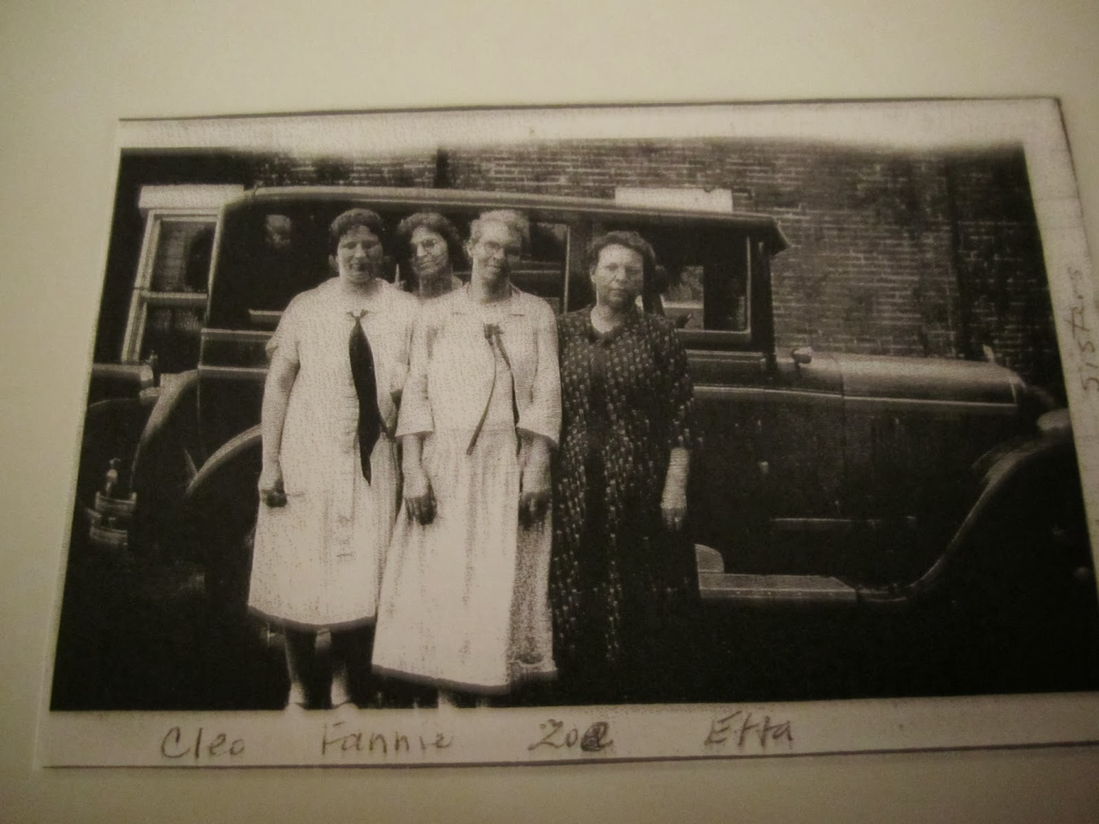 Climbing My Family Tree: The Hartman Girls: Cleo Duffield, Fannie (Hart) Erwin, Zoe Rader And Etta Archer