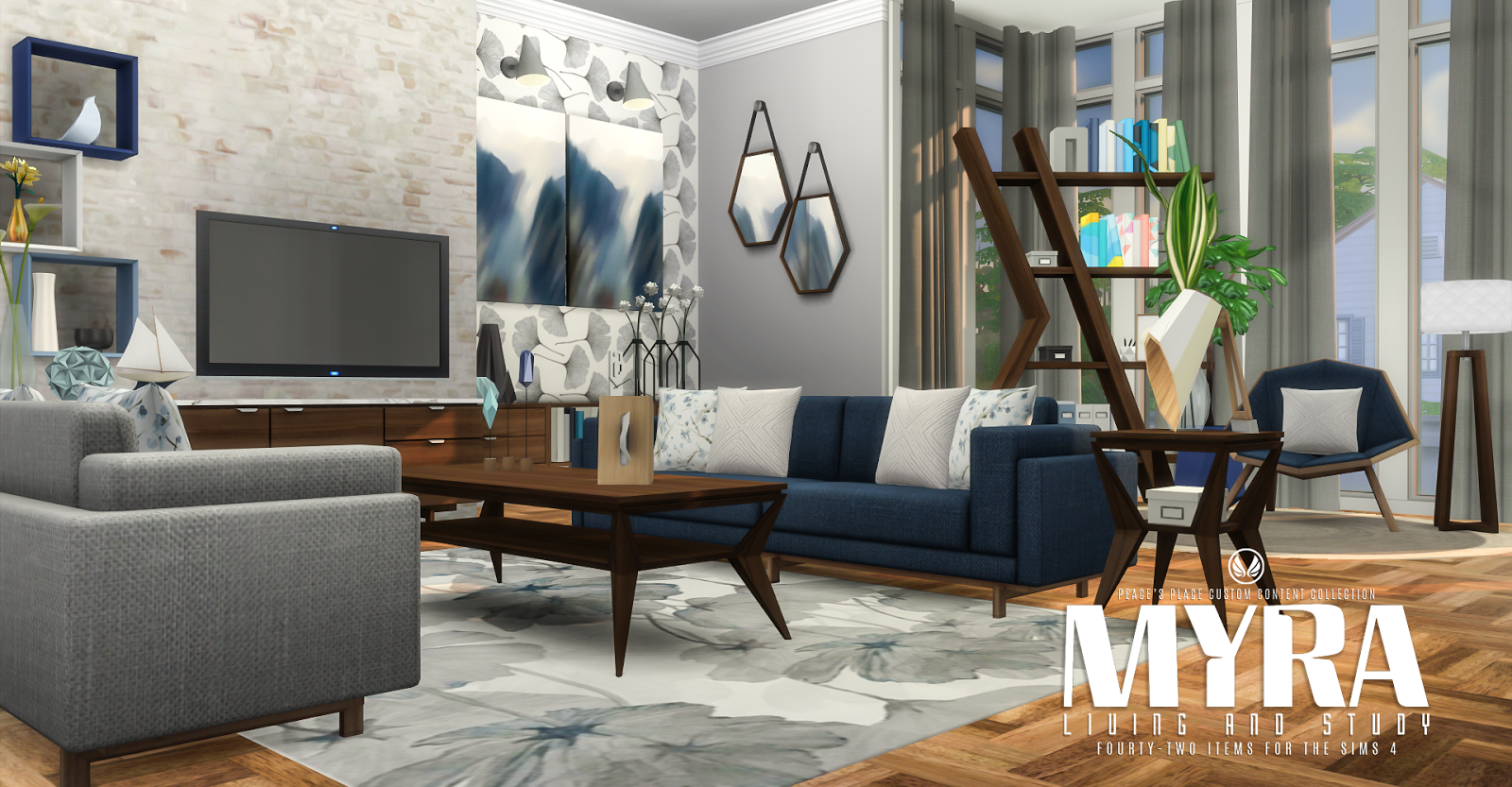 Yes, Another Living Room Set. I Love Choice And I Wanted Another Modern  Design To Choose From To Go With All The Mid Century Stuff I Am Building At  The ...