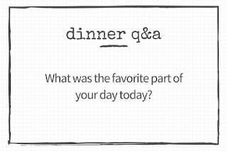 30 questions to ask your kids: What was the favorite part of your day today?