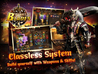 Game Dynasty Blades Warriors MOD Unlimited Coin Cash Full Unlocked Characters Free Download
