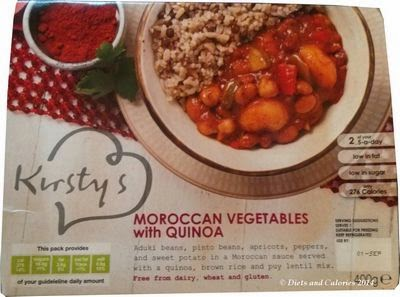 Kirstys Moroccan vegetables with quinoa
