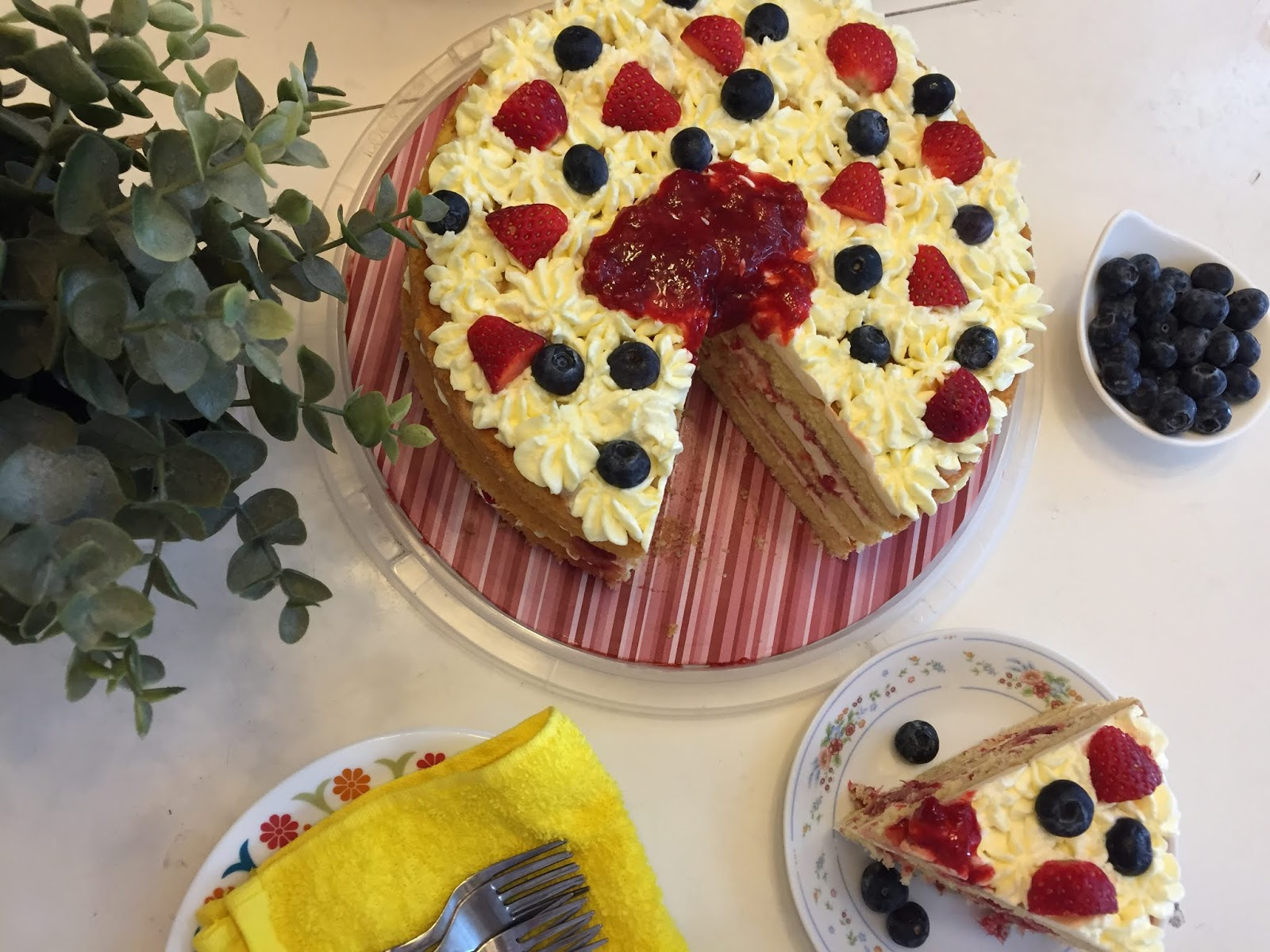 Victoria Sandwich Cake ... emmm Sedapnya