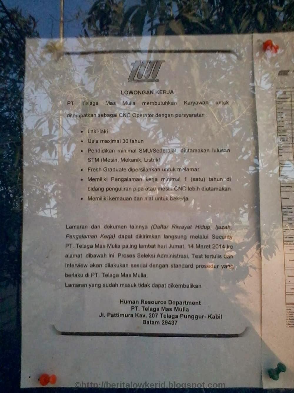 Lowongan Kerja 2013 Di Kawasan Mm2100 Cibitung Daftar Alamat Perusahaan Kawasan Jababeka Mm2100 Ejip Telaga Mas Mulia Lowongan Kerja Terbaru Cnc Operator Batam Maret 2014