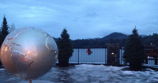 Cool Globes Climate Change Exhibit in Lake Placid NY