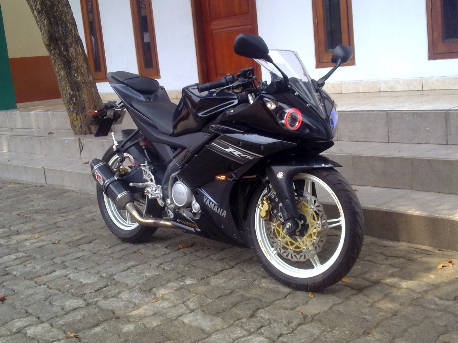 Modifikasi Yamaha Vixion Gp Modifikasi Motor Yamaha