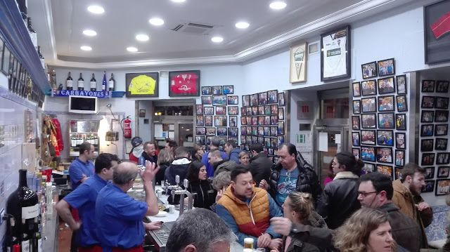 Bar EL DOBLE. Tusolovive Madrid