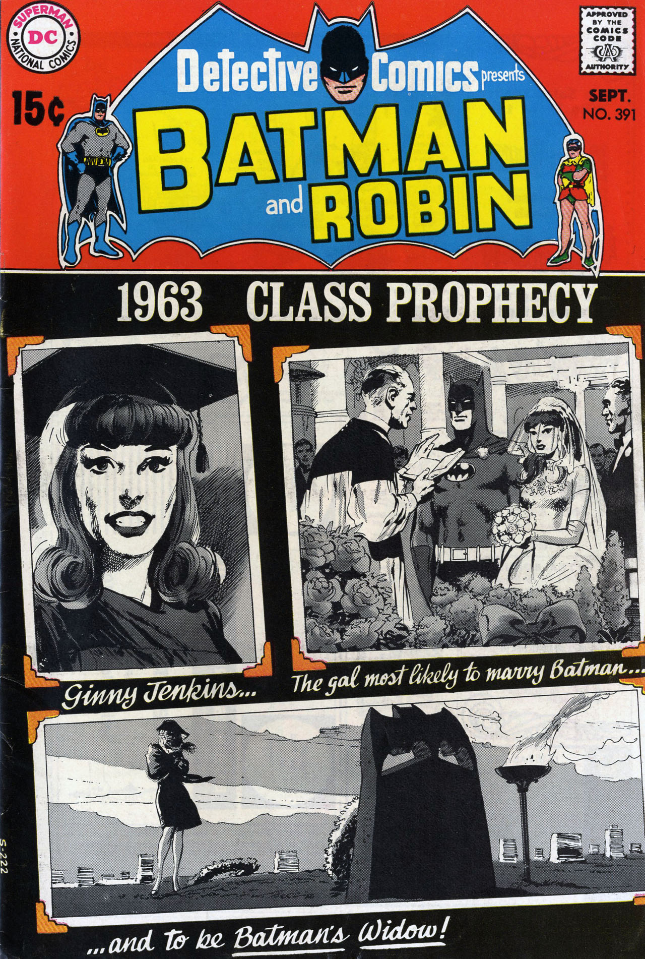 Detective Comics (1937) 391 Page 1