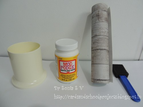 how to make your own decoupage glue