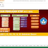 Download Aplikasi Penilaian KTSP SD