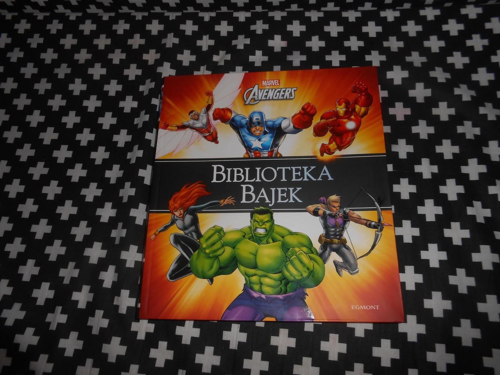 Egmont- Biblioteka bajek Marvel Avengers