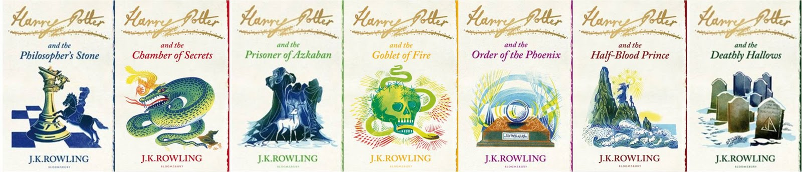 Harry Potter Bloomsbury second edition