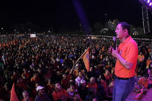 Will Salgado se inscribirá como candidato a la presidencia por GANA