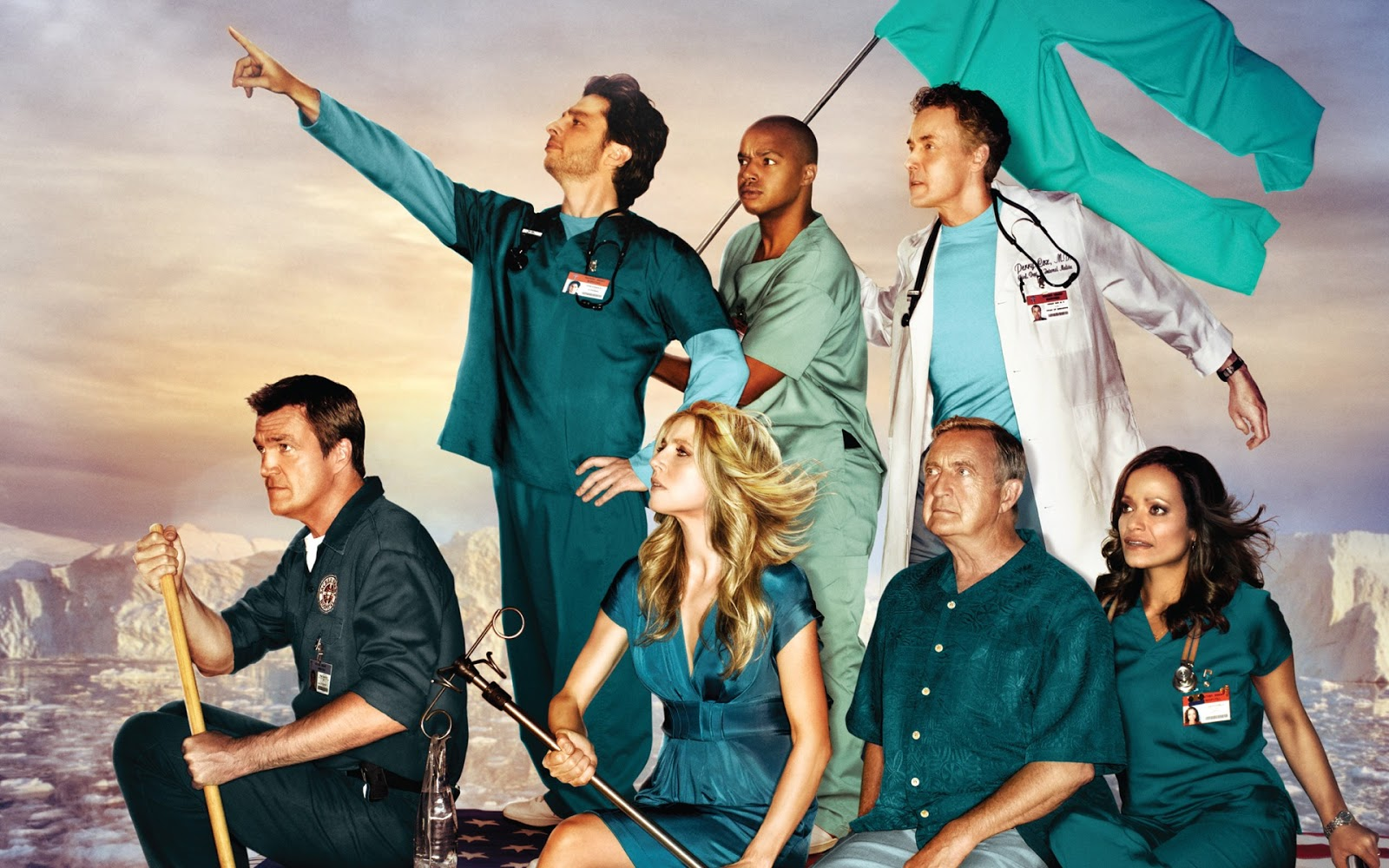 Formidable Joy - UK Fashion, Beauty & Lifestyle Blog | TV | 10 Reasons why I still love Scrubs; Formidable Joy; Formidable Joy Blog; Scrubs; Scrubs TV Show; Zach Braff; Donald Faison; Sarah Chalke