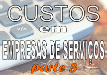 custos empresas de serviços
