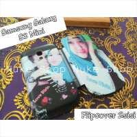 Contoh Flipcover (flipcase) Custom  Samsung Galaxy S3 Mini  (Flipcover / flipcase 2 sisi )
