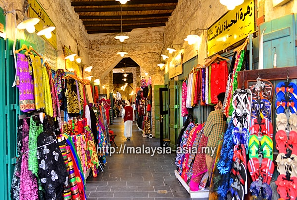Clothes at Souq Waqif
