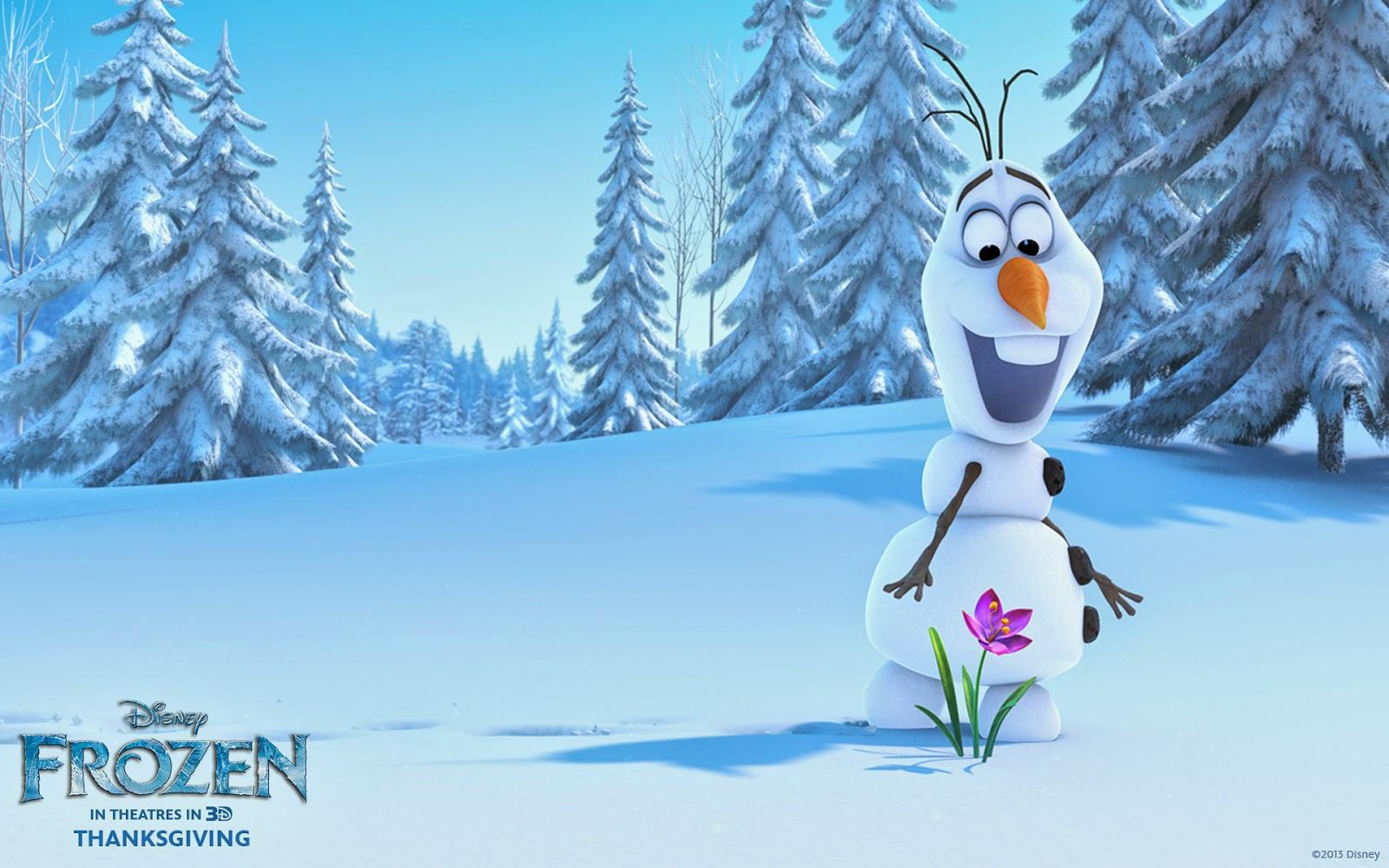 Olaf Frozen Wallpaper HD