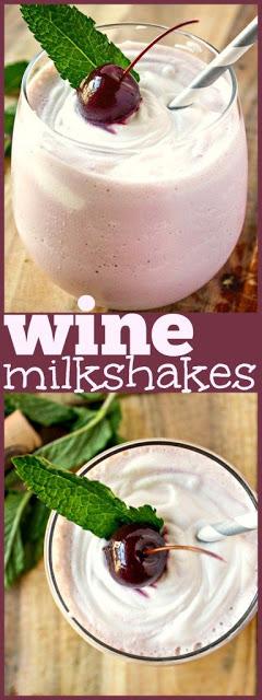 Wine Milkshakes